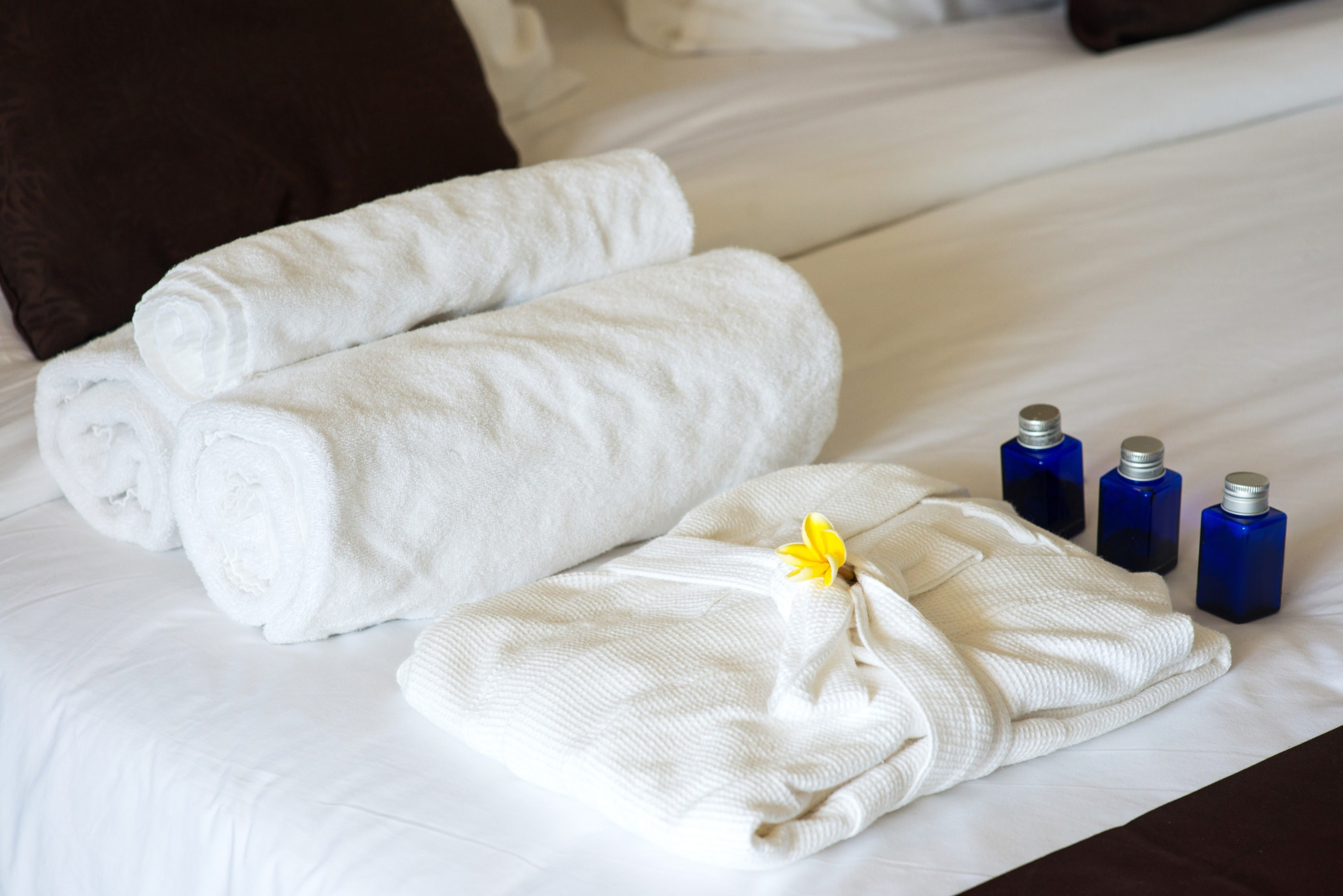 Towels and bedsheets