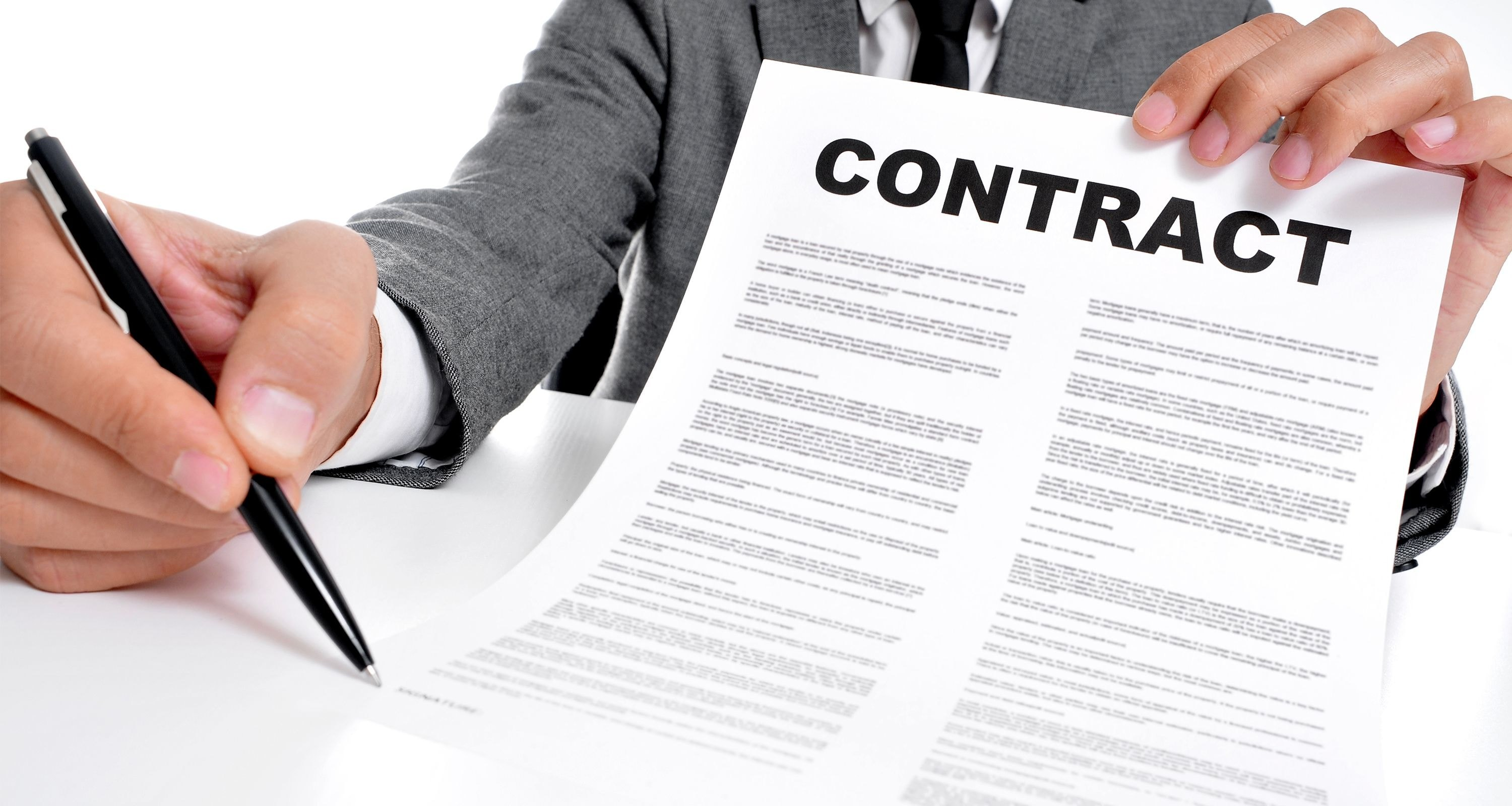 Don't work without the contract